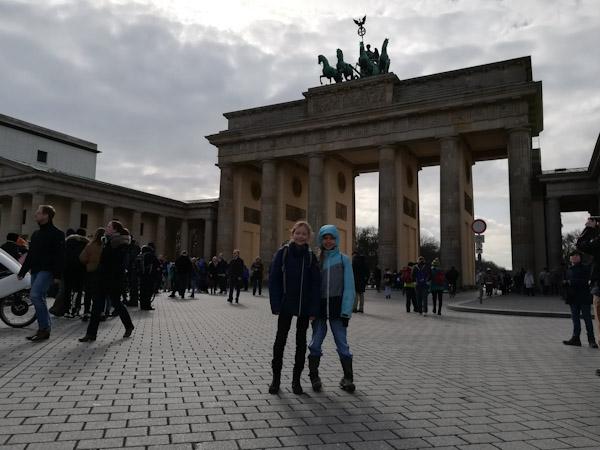 Das Brandenburger Tor, ein historisches Denkmal für Berlin und Deutschland