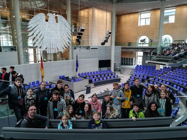 Wir im Bundestag, Politiker waren keine da.